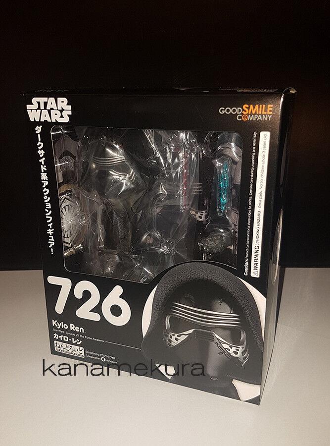 GOOD SMILE - Star Wars Nendoroid 726 Kylo Ren Figure - Last Jedi Dark Force