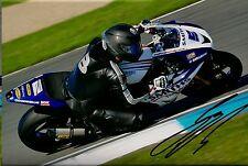 Guy Martin - 2015 Isle of Man TT Autographed 18 x 12 Smiths Triumph Photograph.