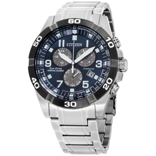 Citizen Brycen Eco-Drive Blue Dial Men's Watch BL5558-58L