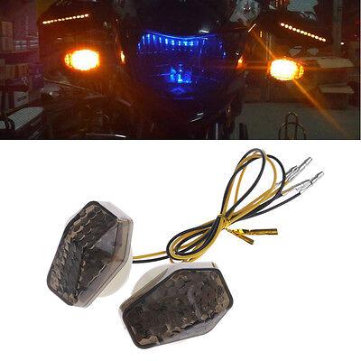 4x LED Motorcycle Turn Signal Indicator Light Suzuki GSXR 600 750 1000 SV 650