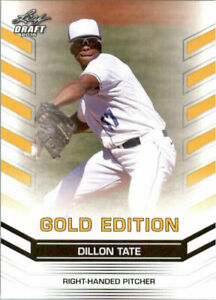 034-Rare-034-Dillon-Tate-2015-Feuille-Draft-034-or-Edition-034-Carte-Rookie