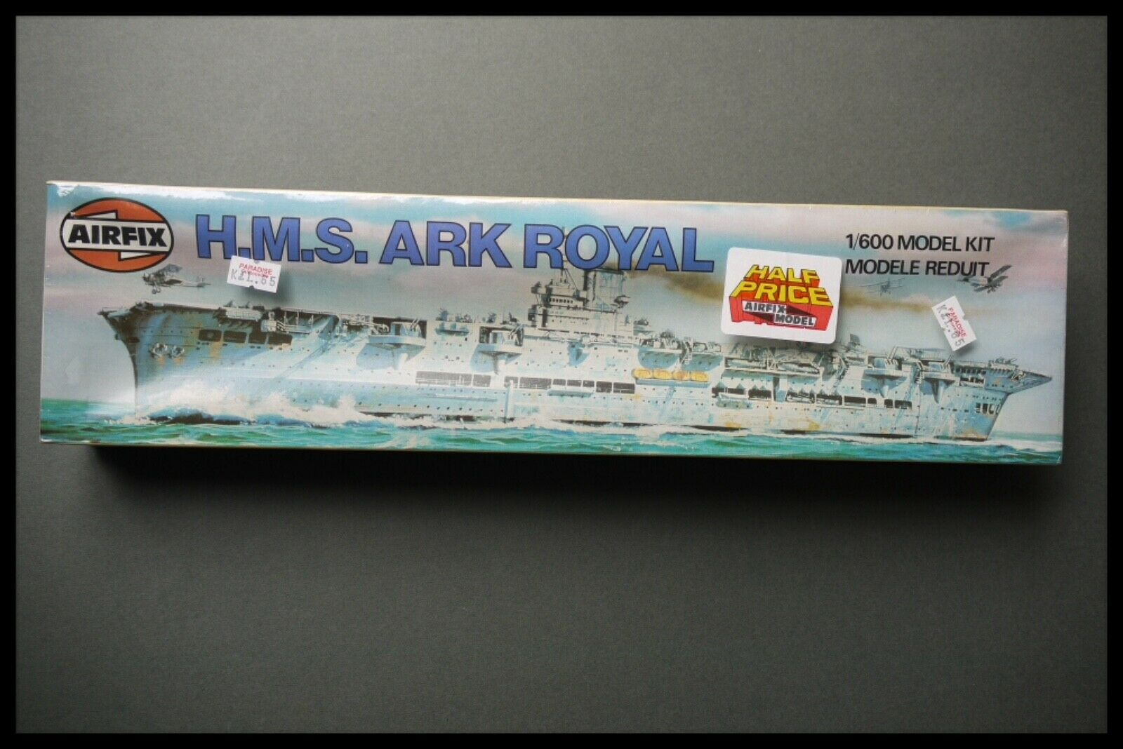 AirFix 1 600 HMS Ark Royal Classic AirFix Factory Sealed Box Series Kit