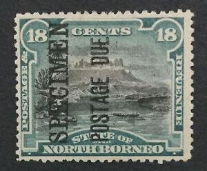 MOMEN-NORTH-BORNEO-SG-D10cs-1895-1897-SPECIMEN-MINT-OG-H-LOT-191692-743-1