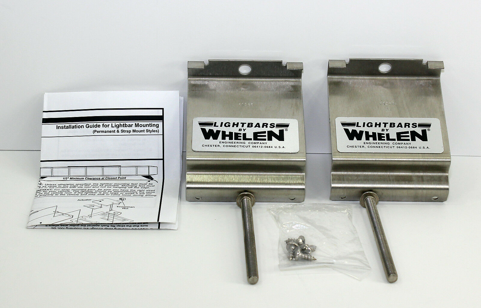 Whelen Edge 9000 Light Bar Manual