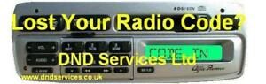 Alfa-Romeo-Radio-Code-Decode-Unlock-PU-9907A-GTV-spider