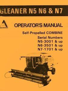 Allis chalmers n5 n6 n7 n 5 6 7 self propelled gleaner combine image is loading allis chalmers n5 n6 n7 n 5 6 publicscrutiny Images
