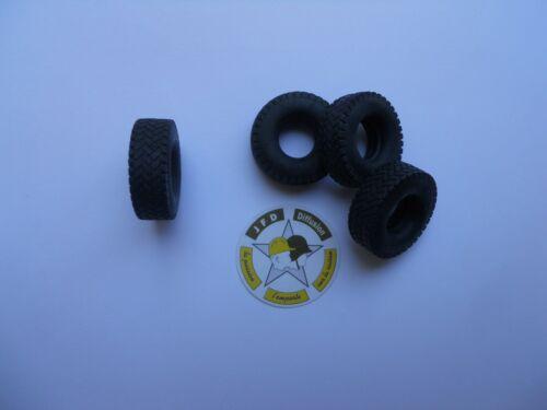 6 CEF REPLEX 1//43 PNEUS VINYLE DIAMETRE 28 mm COMPATIBLES VAB /& TRM 10000