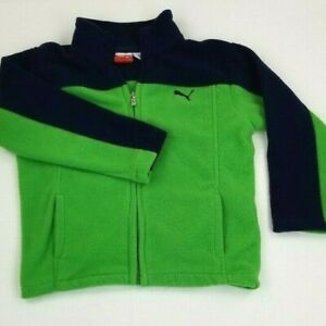Details about ADIDAS Toddler Boys Green Fleece Full Zip Hoodie Jacket 4T