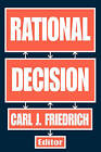 Rational Decision by Transaction Publishers (Paperback, 2007)