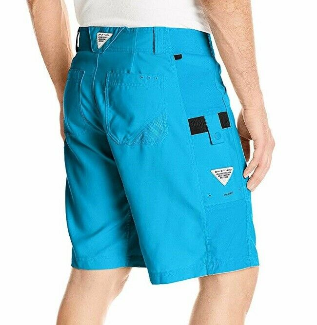 Columbia Big Katuna Il Mens pfg Omni Shield upf 50 Shorts Size 42 x 10  New