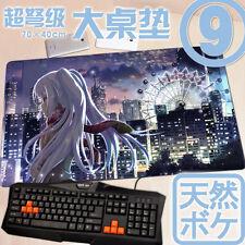 Plastic Memories Isla Japan Anime Custom Large Gaming Mouse Pad Mat Edge Locked