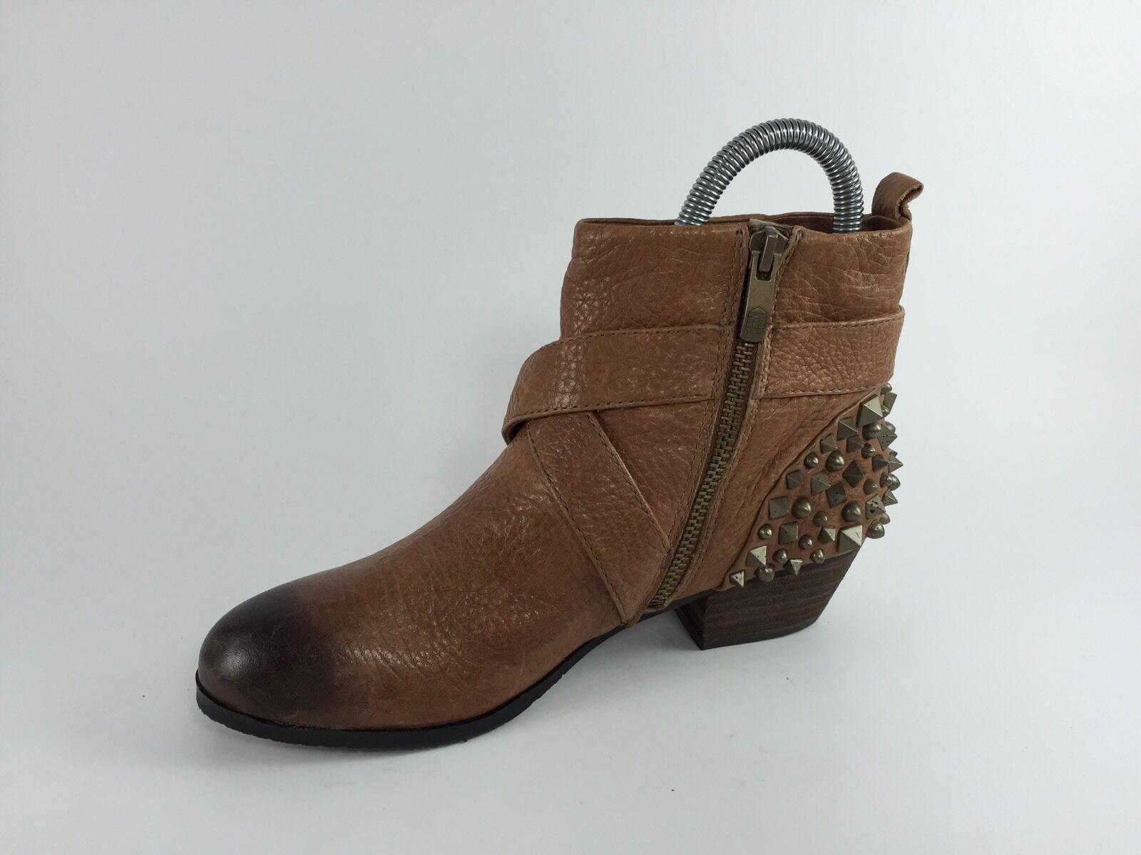 Vince Camuto Camuto Vince Damenschuhe Braun Leder Ankle Stiefel 6 B 885051