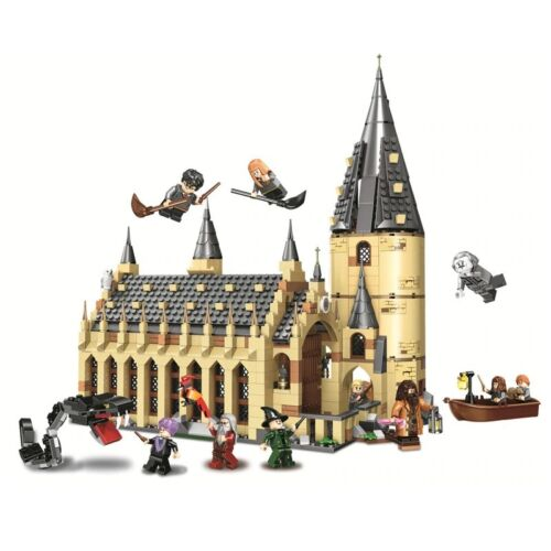 Harry Potter Hogwarts Great Hall Building Blocks Toys Gift Christmas