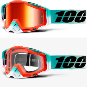 394ab16f79d Image is loading 2018-100-PERCENT-RACECRAFT-MX-MOTOCROSS-GOGGLES-CUBICA-