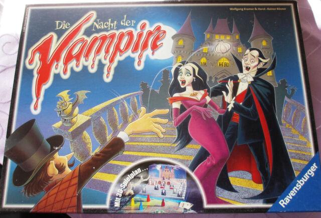 Spiel Die Nacht der Vampire Ravensburger komplett guter Zustand Beschreibung les