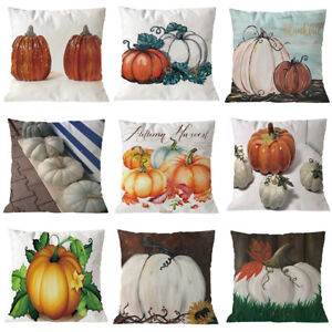 Halloween-Pumpkin-Cushion-Cover-Square-Pillow-Case-Thanksgiving-Day-Decor-U-pick