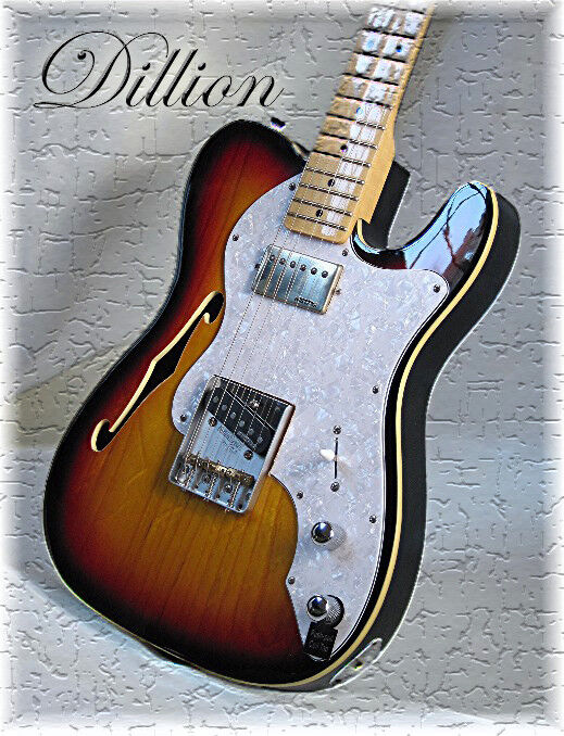 DILLION TELECASTER DELUXE 72 MODEL BOUND BODY