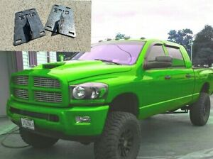 Details about 3rd to 4th GEN RAM 2500/3500 FRONT BUMPER CONVERSION  BRACKETS  SHIPS SAME DAY