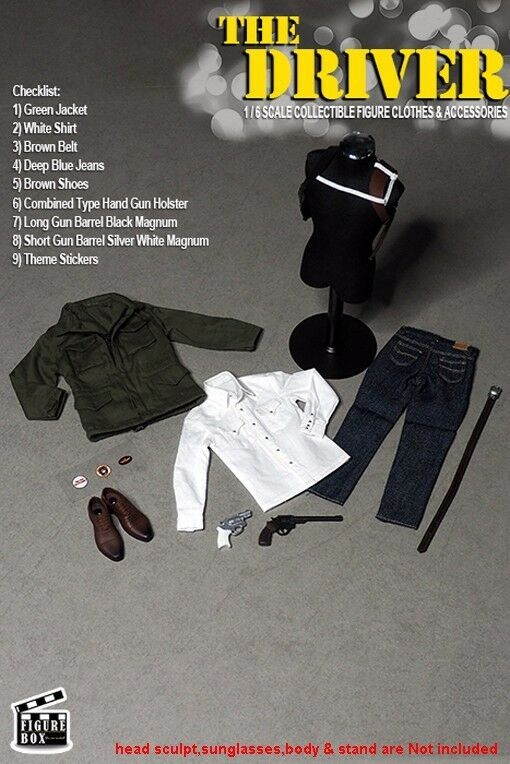 FIGURE Body BOX 1/6 Scale The Driver Head Sculpt+Clothes Set+Figure Body FIGURE 12