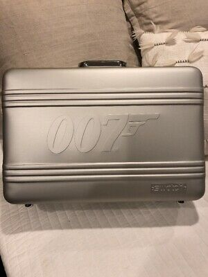 Swatch 007 James Bond Aluminium Briefcase For 20 Watches Collection New Ebay