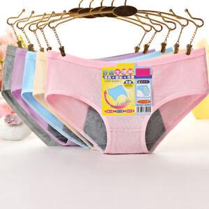 Women-Menstrual-Period-Underwear-Modal-Cotton-Panties-Seamless-Physiological-XL