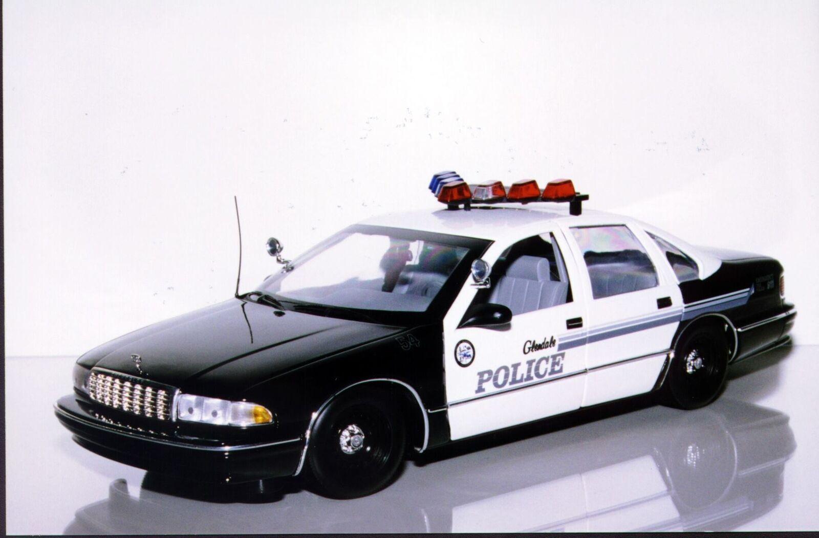 UT modelos Chevy Caprice Glendale PD