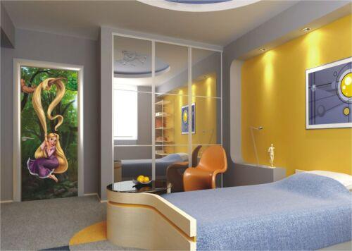 Enfants/'S Chambre à Coucher Mural Papier Peint Disney 202x90cm raiponce sur arbre decor