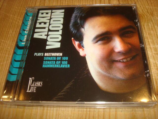 ALEXEI VOLODIN Beethoven Piano Sonatas 29 & 30 LIVE CLASSICS CD Signed Signiert