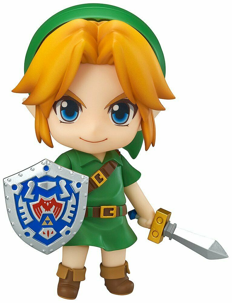 NendGoldid The Legend of Zelda Link Majora's Mask 3D Figure from Japan 553