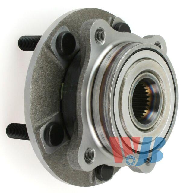 Front Wheel Hub Bearing Assembly WJB WA590312 Interchange HA590312 BR930550
