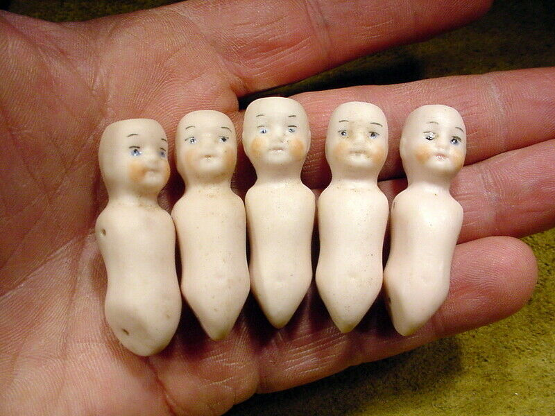 5 x x x excavated vintage victorian Rosa bisque doll body age 1890 Hertwig A 12669 02997e