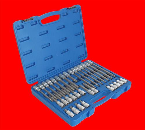 RM14 B5183 32 tlg XXL Komplette RIBE Keilnut Profi Steckschlüssel Kasten RM5