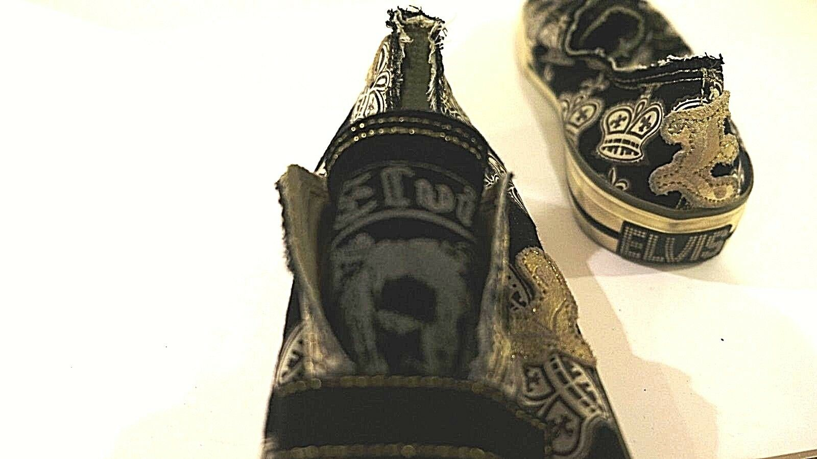 ELVIS COLLECTORS EDITION SHOES SKATER STYLE VELCR… - image 7
