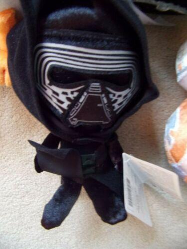 """Star Wars Galactic peluche de collection PELUCHE 6/"""" Jouet Doux Rey BB8 Porg Stormtrooper"""