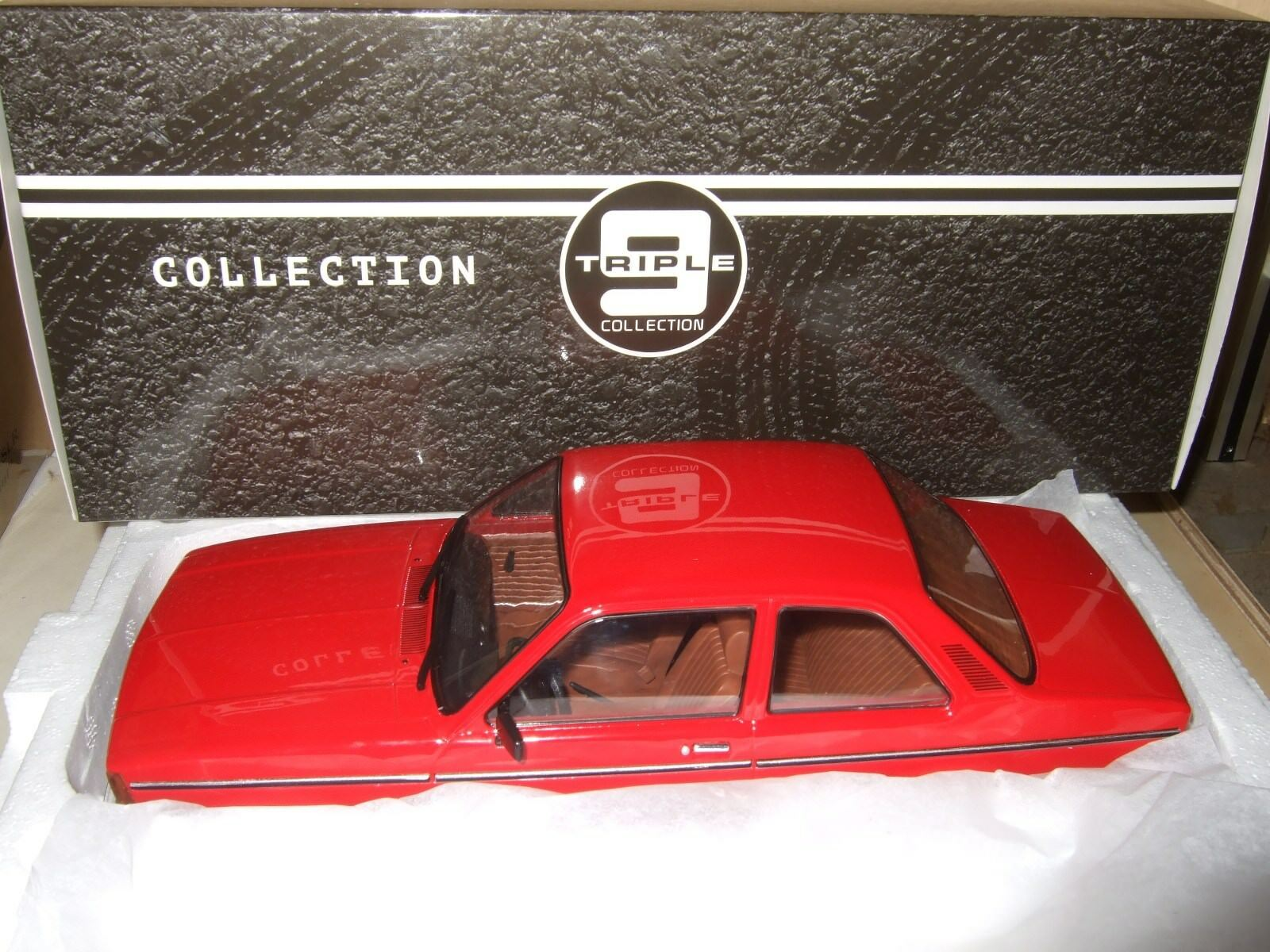 OPEL KADETT C2 rot 1977 von TRIPLE9 1 18 NEU & OVP