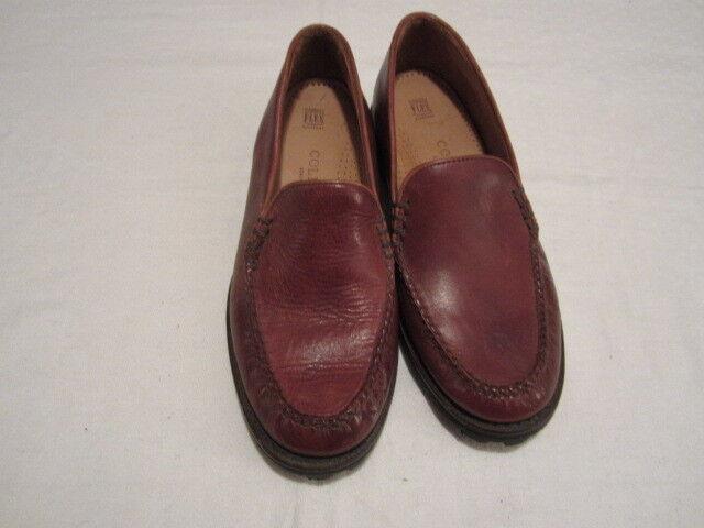 Habillées femme Taille 7 B Cole Haan Mémoire Flex Confort en cuir marron chaussures