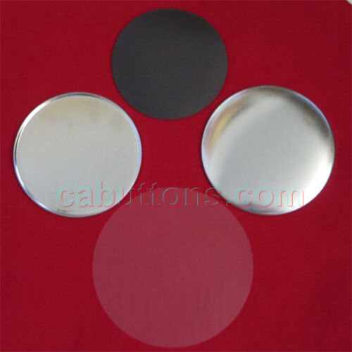 "250pcs 2-1//4"" 2.25 inch Complete Standard Size Tecre Magnet Buttons"