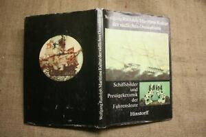 Sammlerbuch-Alte-Schiffsbilder-Schiffskeramik-Maritimes-Kunsthandwerk-DDR-1983