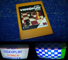 Saba VIDEOPLAY NORDMENDE teleplay Fairchild n. 20! scacchi Saba videogame video