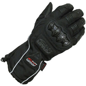 Armr-Motorrad-WP430-Textile-Waterproof-Motorcycle-Thinsulate-Glove-Black-T