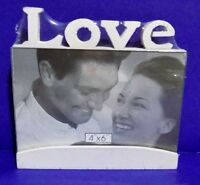 Love Carved Wooden Picture Frame