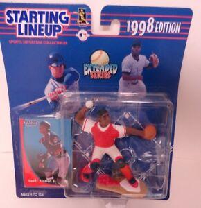 MLB SANDY ALOMAR INDIANS SLU 1998 STARTING LINEUP EXTENDED JR