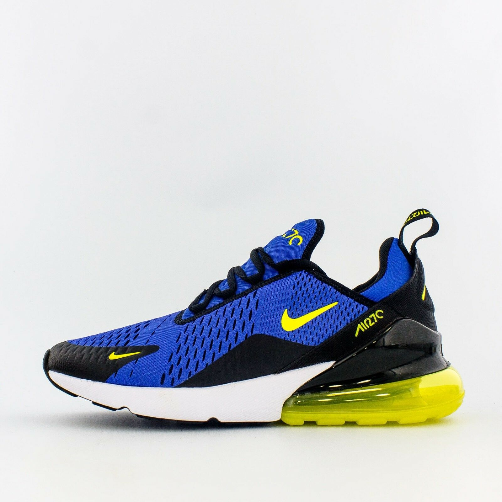 Nike Air Max 270 BV2517 400 Game Royal  -- Dynamic giallo Men SZ 7.5 - 13  tempo libero
