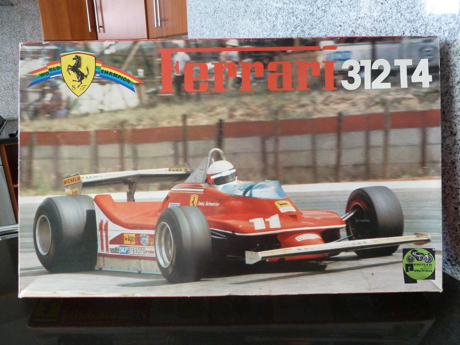 prendiamo i clienti come nostro dio 1 12 ProssoAR, Ferrari 312 t4 t4 t4 (not Tamiya)  vendita online risparmia il 70%