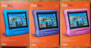Amazon-Fire-7-Kids-Edition-Tablet-7-034-16-GB-Pink-Blue-Purple-2019-9th-Gen-NEW