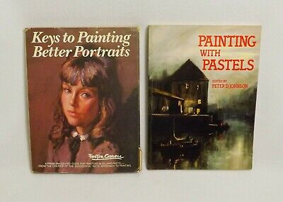2 Painting Books-painting With Pastels Sc & Keys To Painting Better Portraits Hb Goede Warmteconservering