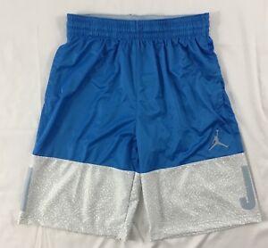 5c9d33037c3 Nike Men Air Jordan Blockout Basketball Shorts Dri-Fit AJ6559 Blue ...
