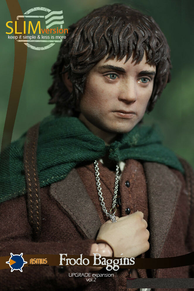 Asmus Toys 1 6 LOTR014S Frodo Baggins The Lord of the Rings Action Figure