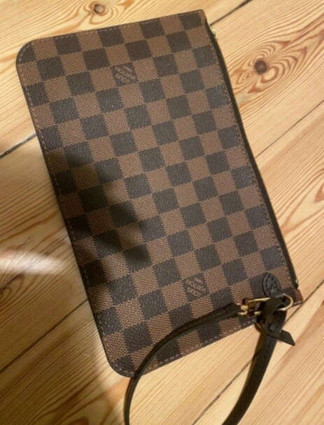Clutch, Louis Vuitton, damier, Clutch, Louis Vuitton,…