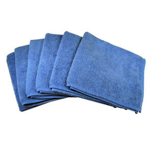 6-Blu-Asciugamano-in-microfibra-panno-di-pulizia-per-TV-LED-e-lucidatura-di-autoricambi